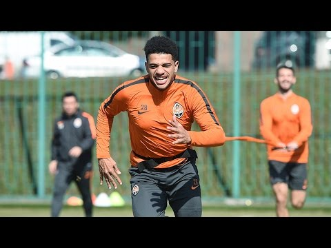 Power and fitness. Morning training session (22/03/2017)