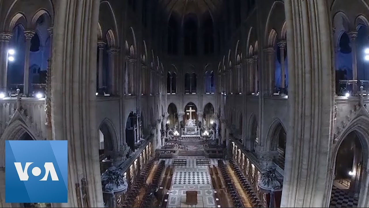 Drone Images in 2018 Capture Glory of Notre Dame Cathedral