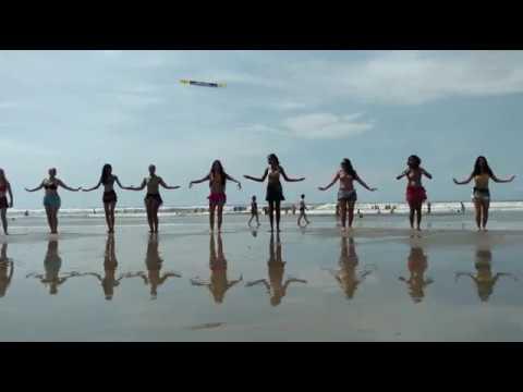 Dança do Ventre na Praia Professora Patrícia Cavalcante - Bellydance on Beach