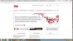 Aon Corporation Insurance