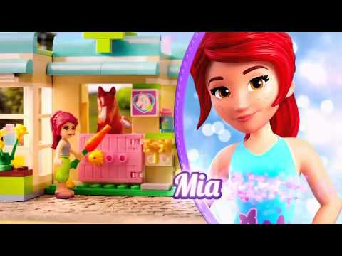 Lego Friends Parkcafe Youtube