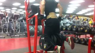270LB / 122.5KG WEIGHTED DIP