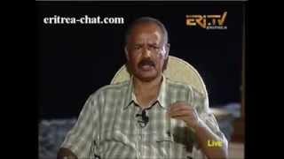 Eritrean President on Eritrean Refugee Crisis (February 2014)