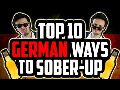Top 10 German Ways To Sober-Up
