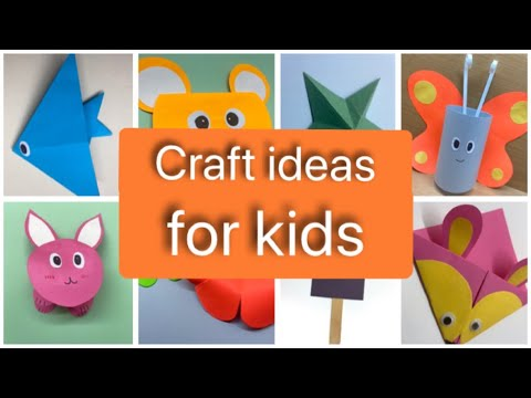 easy-crafts-for-kids-|-origami-art-|-step-by-step--kids-craft-|