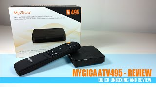 MyGica ATV495 64bit - Unboxing & Review