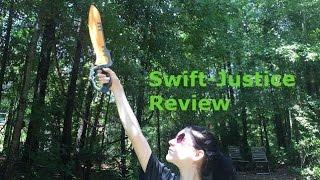 Honest Review: Nerf Swift Justice Sword (Doomlands 2169 Unboxing/Demo)