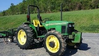 John Deere 5205 4x4 Diesel Tractor!