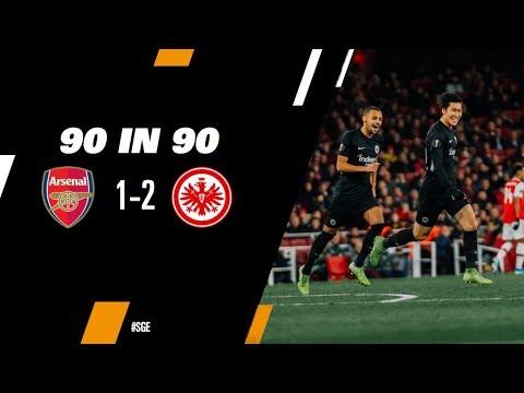 """""""90 in 90"""": Arsenal FC - Eintracht Frankfurt bei EintrachtFM"""