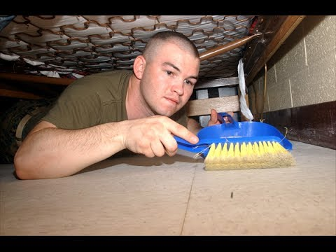 How To Pass Marine Corps Field Day (Room Inspections)