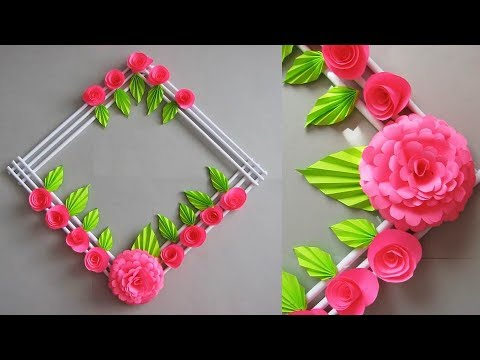 Diy Simple Home Decor Wall Door Decoration Цветы из