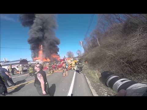 Allegheny River Blvd. structure fire
