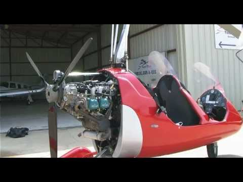 Autogyro MTO sport Preflight and Control Tower flight in the pattern