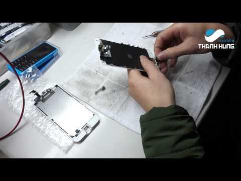 Làm thế nào để thay vỏ iphone 6 màu hồng ?