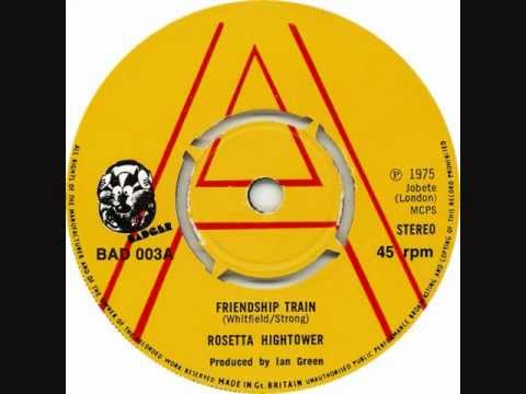 Rosetta Hightower - Friendship Train