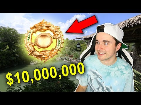 THE MOST EXPENSIVE FIDGET SPINNER EVER MADE (SOLID GOLD AND DIAMOND) AND THE QUEST TO FIND IT!!!