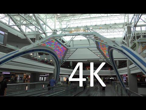A 4K Tour Of Denver International Airport (DEN)