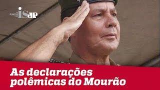 Debate: As declarações polêmicas do General Mourão