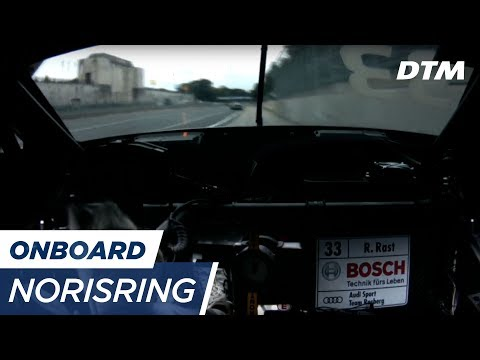 DTM Norisring 2017 - René Rast (Audi RS5 DTM) - RE-LIVE Onboard (Race 2)
