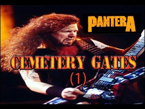COMO TOCAR CEMETERY GATES /PANTERA (CON TABS)