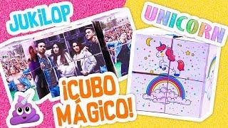 DIY 🤩 CUBO MÁGICO 🤩 JUKILOP 😍 y UNICORNIO🦄 DIY - Manualidades Fáciles y Fantásticas!
