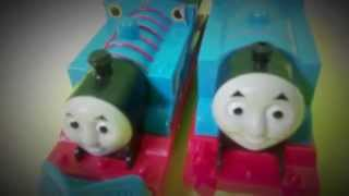 Thomas the tank Engine vs New REDESIGNED Trackmaster Thomas and Friends Thumbnail