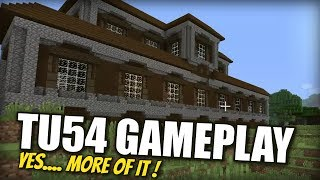 Minecraft PS4 - TU54 GAMEPLAY [ NEW ] Full Clip  - Xbox / PS3 / Switch