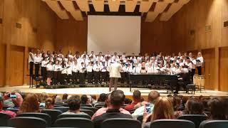 Harnett All-County Honors Chorus performing Nine Hundred Miles