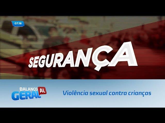 Segurança: Violência sexual contra crianças