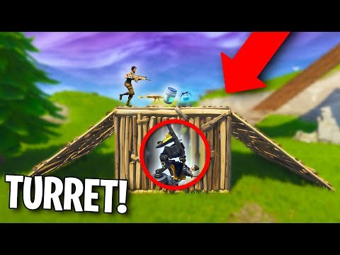 WOULD YOU FALL FOR THIS?? *TURRET TRAP!* | Fortnite Battle Royale