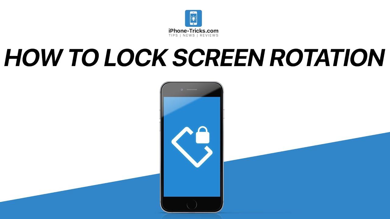 How to lock screen rotation on iphone ipad ipod touch iphone how to lock screen rotation on iphone ipad ipod touch iphone tricks buycottarizona