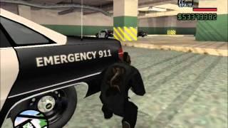 GTA San Andreas - San Fierro Police Station Attack Story