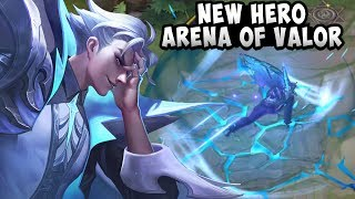 NEW HERO: SiMaYi (PAINE) Gameplay + Skills | Arena of Valor | AOV | RoV | LienQuanMobile