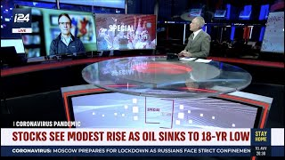 Is the stimulus bill enough and what happens when you reopen the economy? Andrew Busch joins i24NEWS