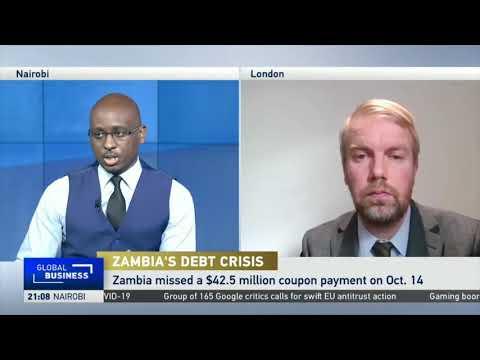 Zambia defaults $42.5 mln Eurobond debt