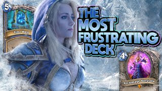 Quest mage is SO FRUSTRATING! | Hearthstone | Descent of Dragons