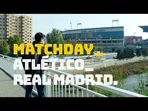 Un día en Madrid_Último derbi en el Calderón