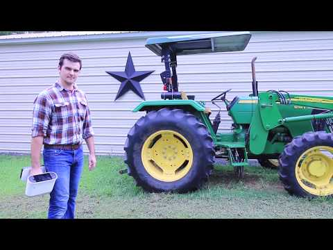 3D Scanning A Tractor Outdoors With The Artec Leo 3D Scanner