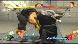 Street Fighter 4: Gouken Combo Video