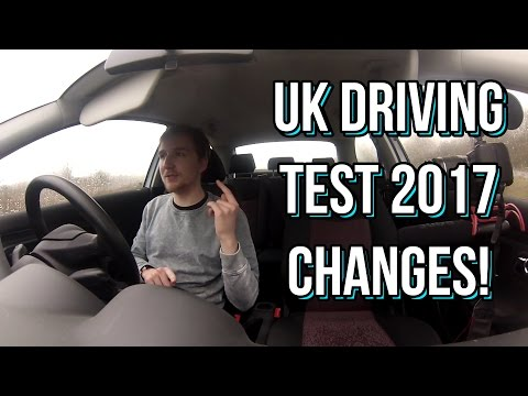UK Driving Test Changes for 2017!
