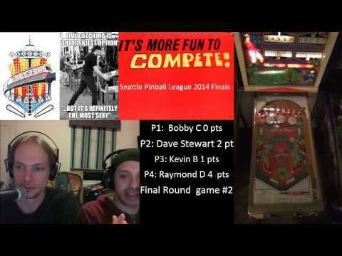 Seattle Pinball League Finals - Final Round
