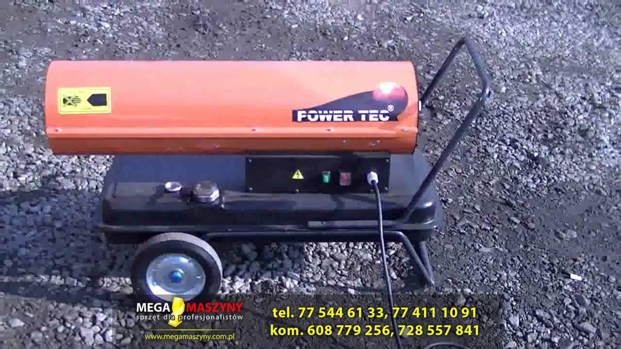 Super Nagrzewnica olejowa POWER TEC D20 D30 D50 - YouTube JS65