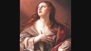 """Caldara - Maddalena ai piedi di Cristo - """"Pompe inutili"""", M. C. Kiehr"""