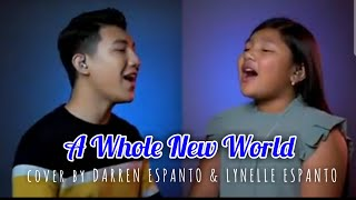 A WHOLE NEW WORLD cover by DARREN ESPANTO with his little sister LYNELLE YouTube Videos