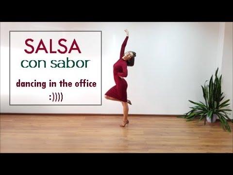 Salsa con sabor! by Anna Lev - salsa lady style