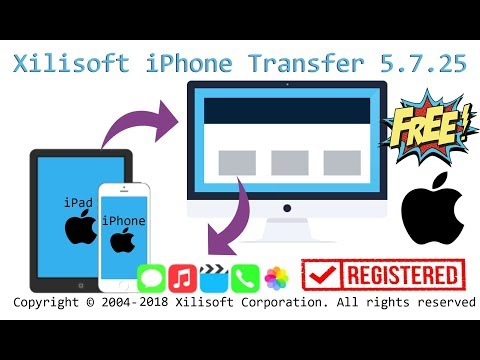 Xilisoft IPhone Transfer 5.7.25 Lifetime Free With KEYGEN