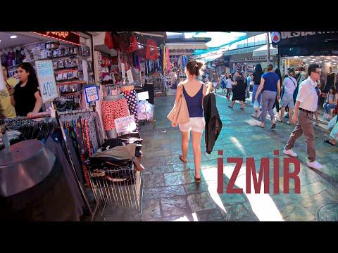 Walk In Izmir Kemeraltı Bazaar- Turkey Travel Guide 2019