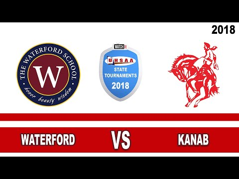 2A Volleyball: Waterford vs Kanab High School UHSAA 2018 Utah State Tournament 5th Place