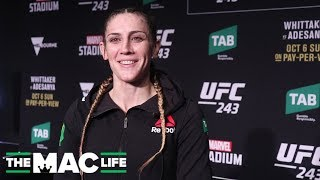 UFC 243: Megan Anderson Post-Fight