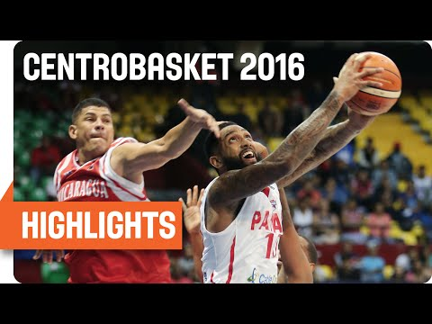 Panama (PAN) v Nicaragua (NCA) Game Highlights - Group A - 2016 FIBA Centrobasket Championship